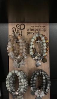 Handmade in Ohio while the artesian prays over them.